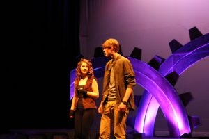 Freeport High School Drama Dept ~ Out Of The Machinery
