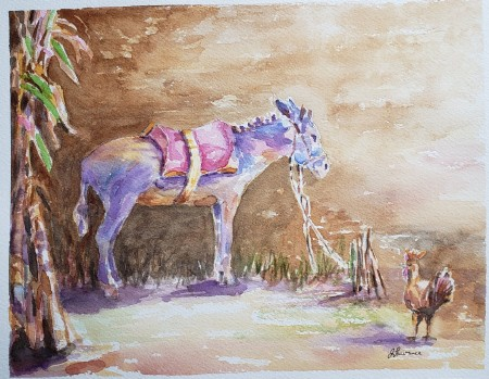 watercolor by Janet Lawrence