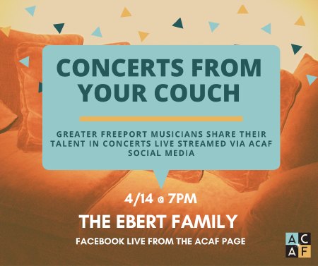 Concerts from your Couch: The Ebert Family