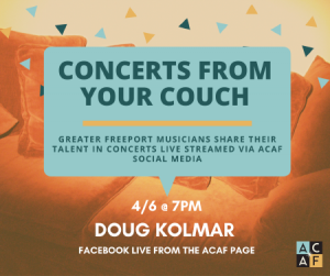 Concert from your Couch: Doug Kolmar