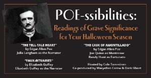 Poe-ssibilities: Readings of Grave Significance for Your Halloween Season