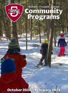 RSU5 Community Programs winter catalog