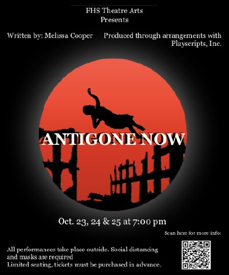 Antigone Now, by Melissa Cooper